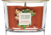 Yankee Candle Elevation Sweet Orange Spice lumânare parfumată mic